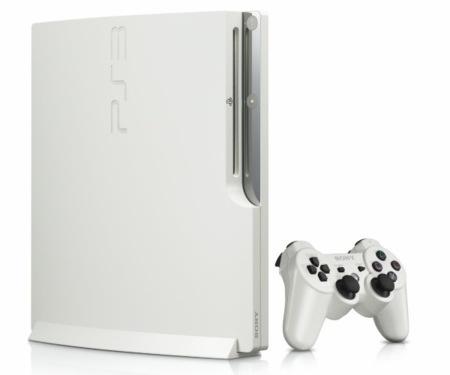 Edición limitada de Playstation 3 Slim 320GB en blanco
