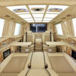 Un jet privado sobre ruedas: así es el Mercedes-Benz Clase V de Larte Design