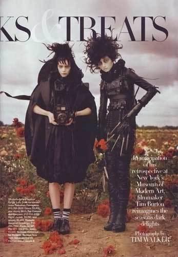 Foto de Tim Burton en Harper's Bazaar (1/5)