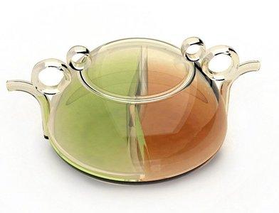 Tetera Ying&Yang para tomar dos tés diferentes