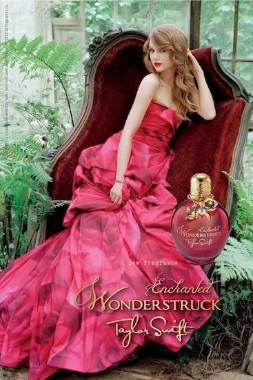 Taylor Swift es una princesa en la campaña de su último perfume Wonderstruck Enchanted