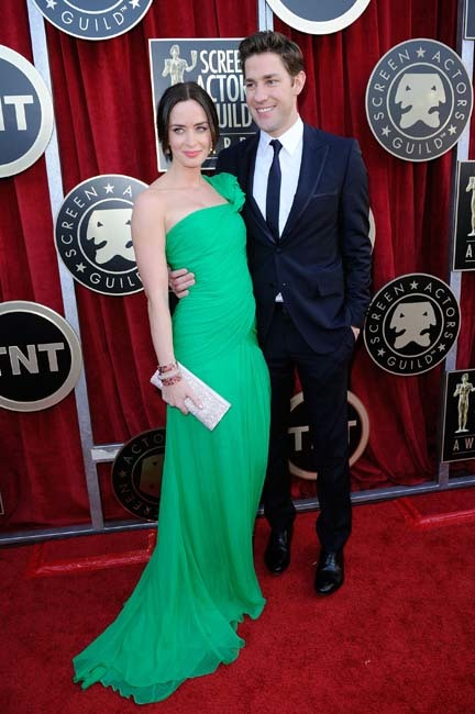 Emily Blunt y John Krasinski Screen Actors Guild Awards