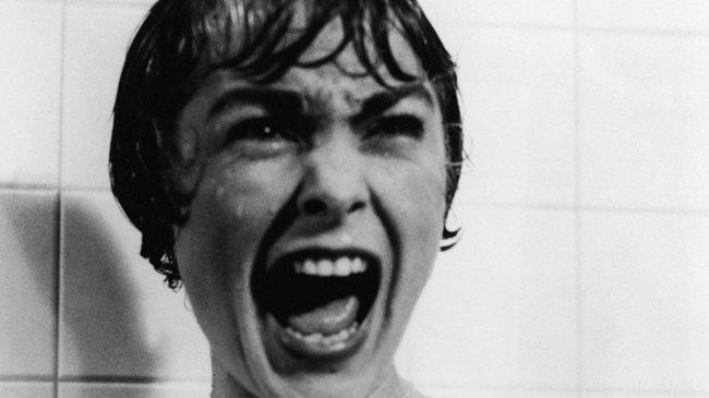 El famoso grito de Janet Leigh en 'Psicosis'