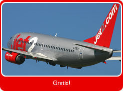 Promoción Suscríbete y Vuela de Jet2.com: 50 vuelos gratis a sortear