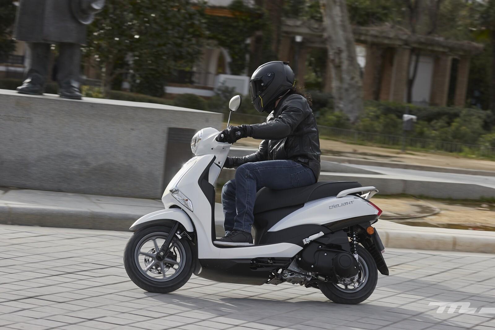 Foto de Yamaha D'elight 125 2021, prueba (27/34)