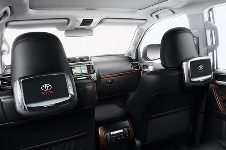 Sistema de entretenimiento Toyota