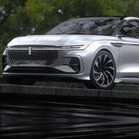 Lincoln Zephyr concept, un auto que demuestra que los sedanes seguirán con vida