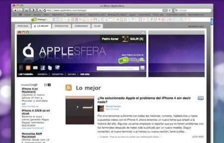 Actualizamos Applesfera con mejoras en los compartidos de Facebook, comentarios y nuevas pestañas