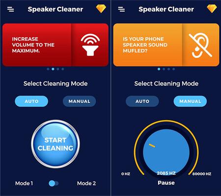 Speakercleaner