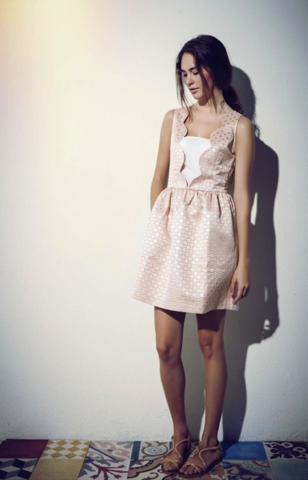 Blossan vestido rosa bodas
