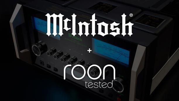 McIntosh añade compatibilidad con la biblioteca digital musical de Roon en sus amplificadores