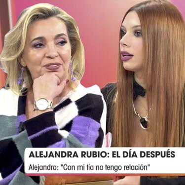 'Viva la vida': Este es el auténtico motivo por el que Alejandra Rubio no tiene relación con su tía Carmen Borrego