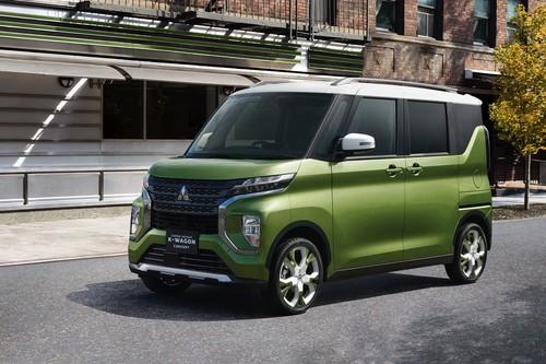 Mitsubishi Super Height K-Wagon, una nueva propuesta de movilidad urbana en tamaño compacto