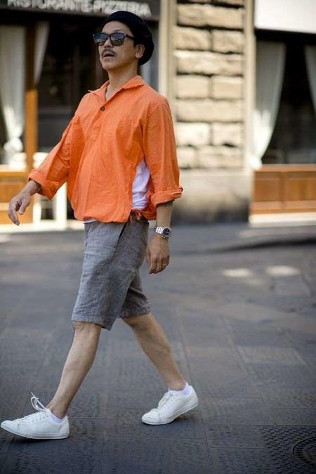 El Mejor Street Style De La Semana El Naranja Se Impone Como El Color De Transicion De Temporada 10
