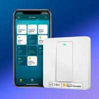 """El interruptor de pared """"inteligente"""" de meross es compatible con HomeKit y roza los 20 euros en Amazon con cupón"""
