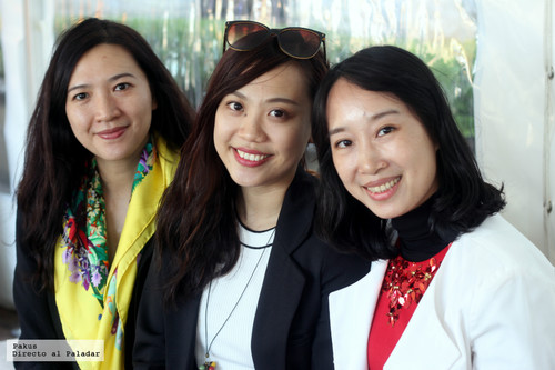 Las ganadoras de MasterChef China conocían la cocina molecular pero no el jamón ni la paella