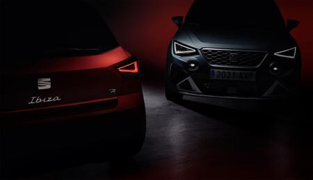 Los SEAT Ibiza y Arona 2022 están muy cerca: revelan su facelift en este teaser