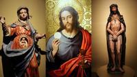 El mantel de la Última Cena y el Ecce Homo en las Edades del Hombre 2014
