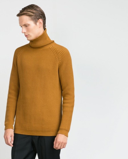 Un suéter de cuello alto