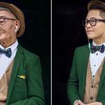 En China un nieto convierte en icono de moda a su abuelo un granjero de 85 años