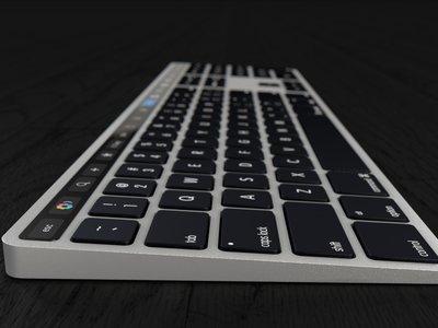 Estaba cantado: ya circulan conceptos de un Magic Keyboard con Touch Bar integrada