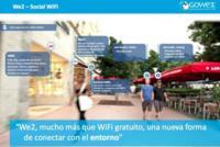 We2 comenzará a llegar a las grandes ciudades, Wi-Fi gratuito y social de la mano de GOWEX