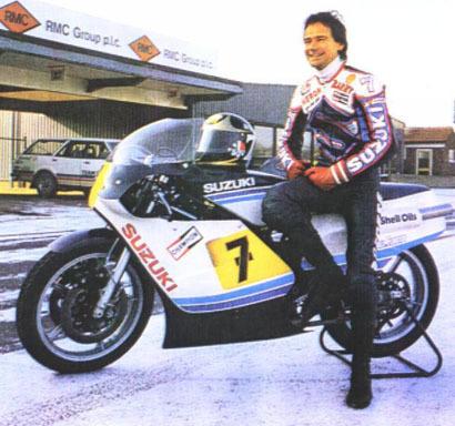 Barry Sheene Suzuki RG500