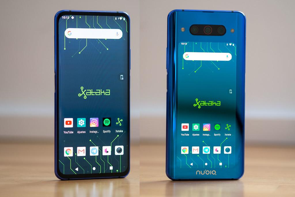Nubia Z20, análisis: pantalla por delante y pantalla por detrás para uno de los móviles más