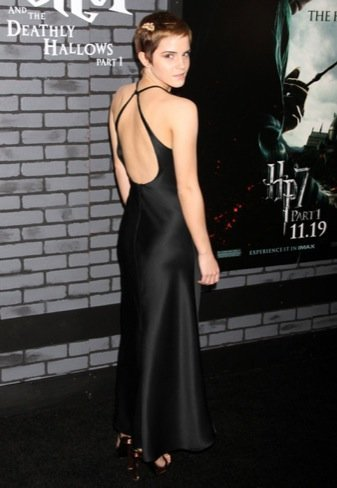 Emma Watson espalda