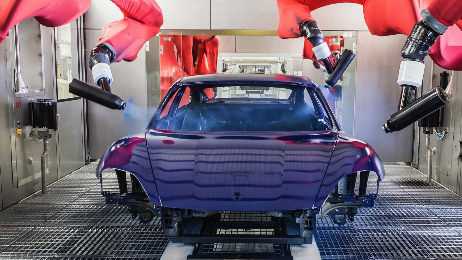 Foto de Fábrica Porsche Taycan (inauguración) (13/44)