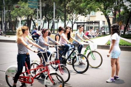 Te enseño a andar en bici: clases en el DF