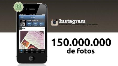 Instagram alcanza los 150 millones de fotos
