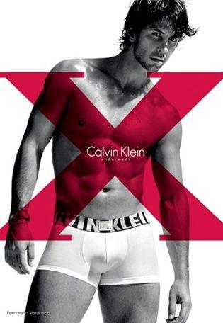 Fernando Verdasco imagen de Calvin Klein