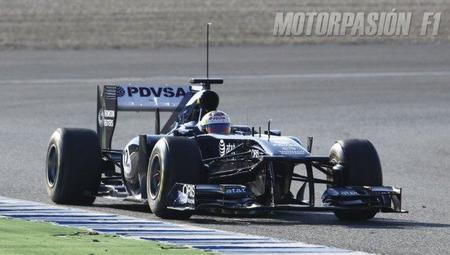 Williams F1 contenta con los test de Jerez a pesar de los problemas técnicos