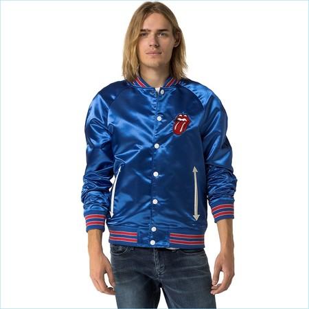 Hilfiger Denim Rolling Stones Varsity Jacket