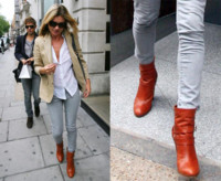 El look de calle perfecto de Kate Moss