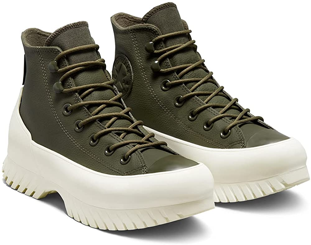 Converse Chuck Taylor All Stars Lugged Winter 2.0 Womens Cargo Khaki Trainers