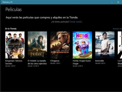 Una nueva actualización mejora los subtítulos en la aplicación Películas y TV