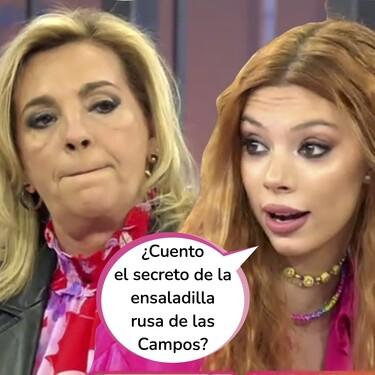 """Brutal discusión entre Carmen Borrego y Alejandra Rubio en 'Viva la vida' tras su famosa reconciliación: """"A ver si vemos los vídeos"""""""