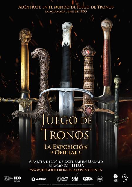 Cartel Presentacin Exposicin Juego De Tronos En Madrid 48841119288 O