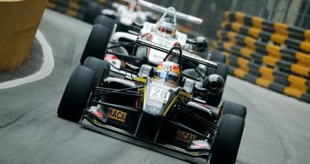 Roberto Merhi GP Macao F3 2014
