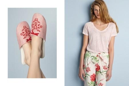 oysho pv 2014 pijama flores