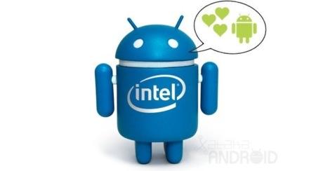 Intel prepara Jelly Bean para sus móviles con procesadores Atom