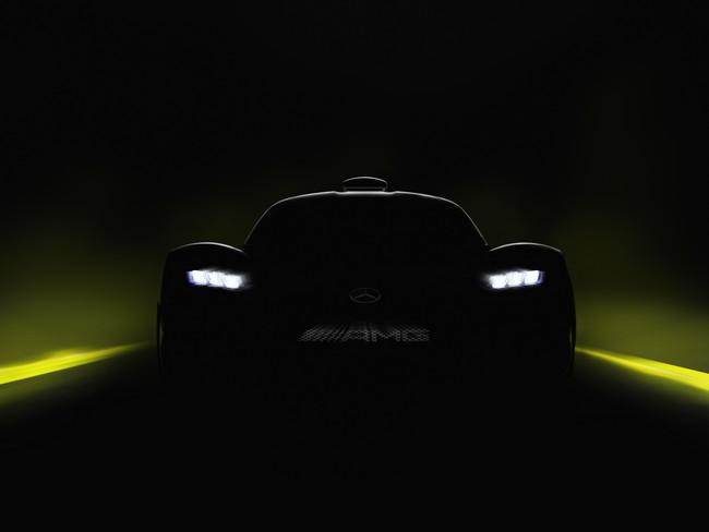 Mercedes-AMG Project One, el nuevo hiper deportivo alemán se presentará en el Auto Show de Frankfurt