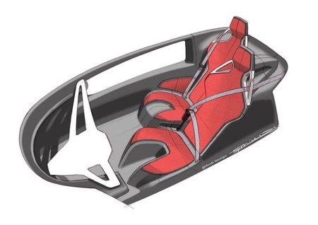 Audi urban Concept interior