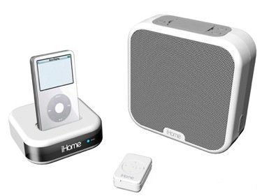 iHome iH21, altavoz inalámbrico para iPod