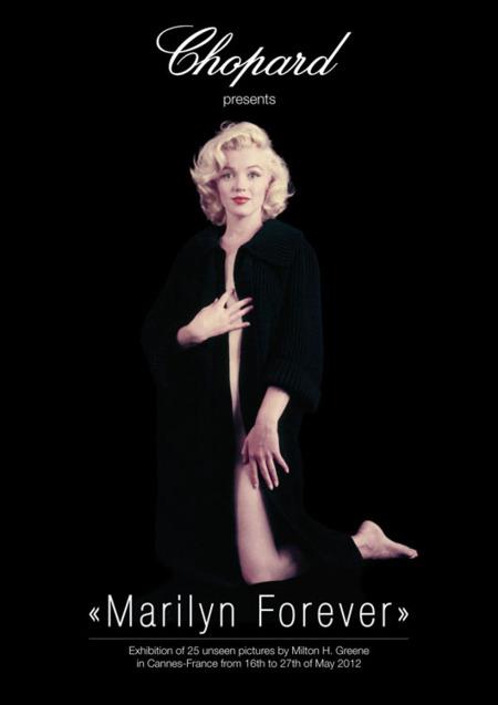 Marilyn Monroe en el Festival de Cannes 2012