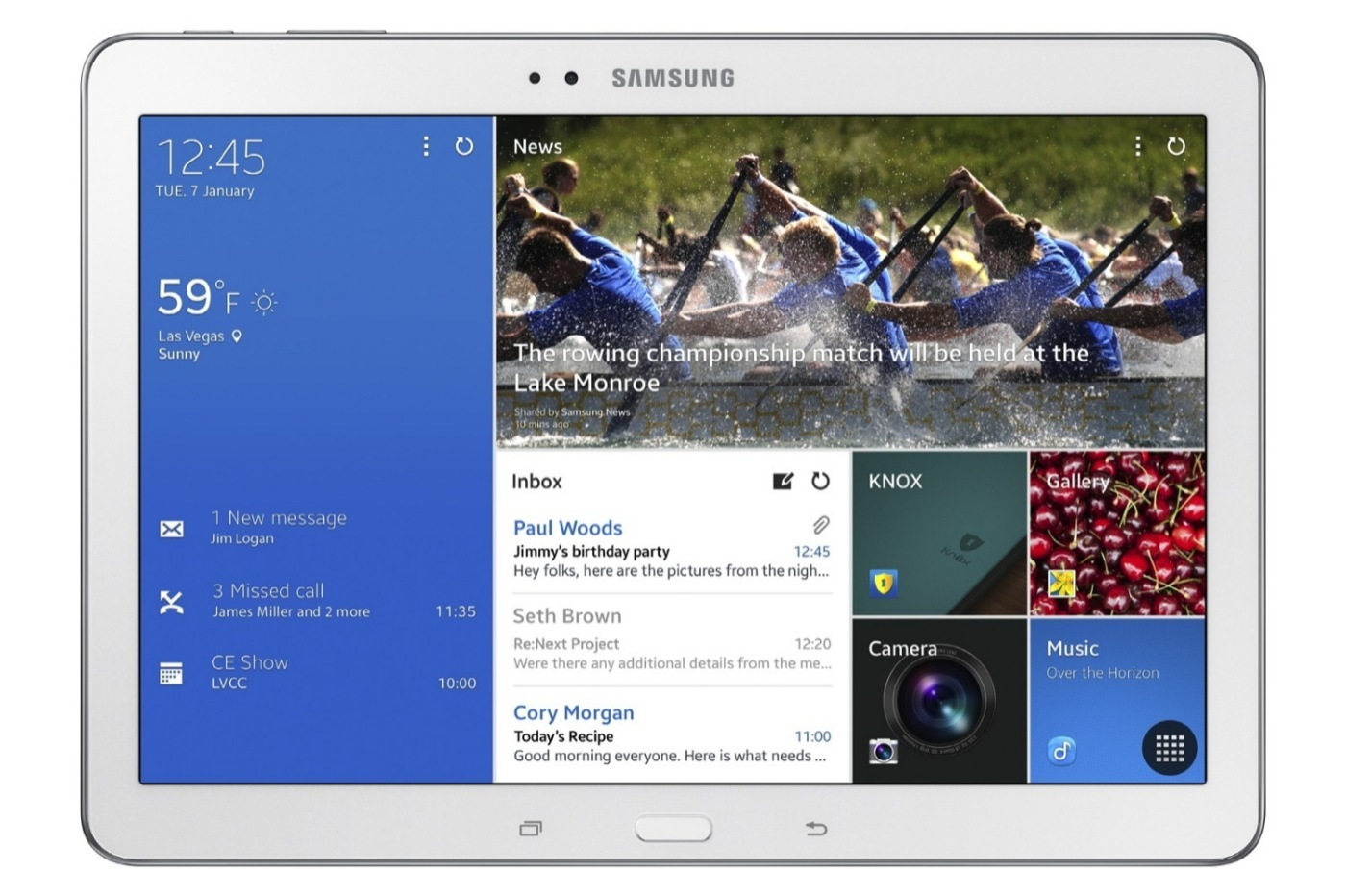 Foto de Samsung Galaxy TabPRO, imágenes oficiales (8/21)