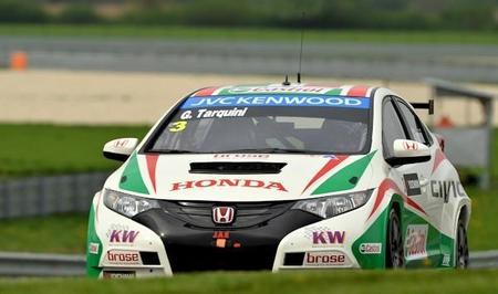Honda domina la clasificación en Slovakia Ring