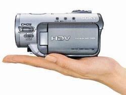 HDR – HC3E, videocámara de HD